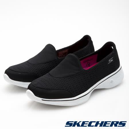SKECHERS (女) 健走系列GO Walk 4 - 14148BKW