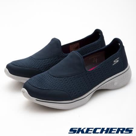 SKECHERS (女) 健走系列GO Walk 4 - 14148NVGY