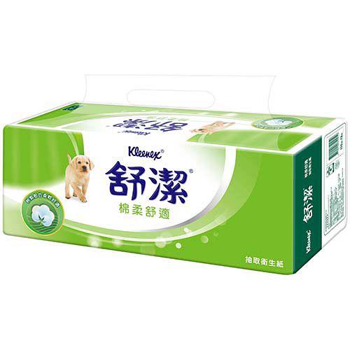 【舒潔】棉柔舒適抽取衛生紙110抽(12包x6串)/箱x2