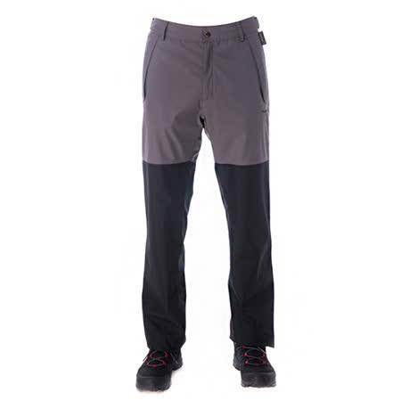 【hilltop山頂鳥】男款GoreTex防水透氣保暖長褲H31MJ2灰