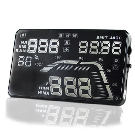 HUD Q7 GPS多功能抬頭顯示器