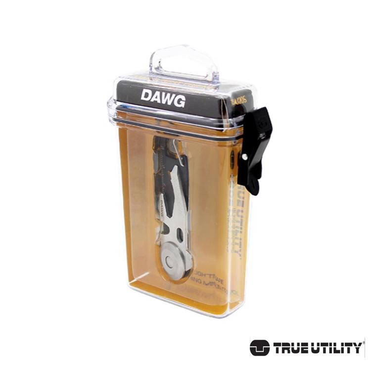 TRUE UTILITY DAWG 14合1多 鑰匙圈工具組城市綠洲 鑰匙圈、工具、修繕
