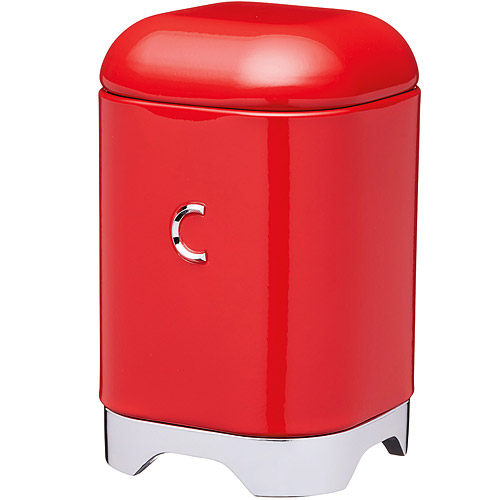 《KitchenCraft》Lovello咖啡收納罐 紅