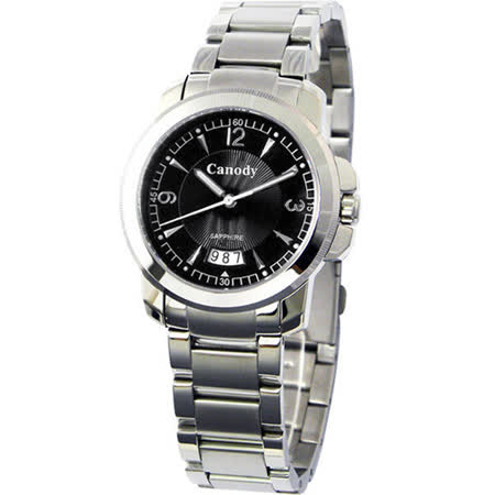 Canody 內斂氣質時尚腕錶(黑/36mm) CV5621-A