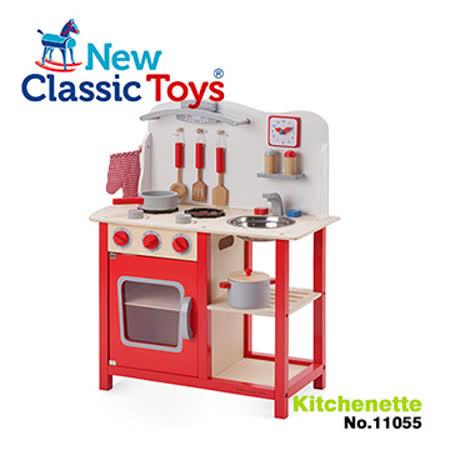 【荷蘭 New Classic Toys】活力小主廚木製廚房玩具 11055