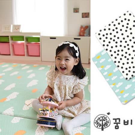 DreamB 雙面兒童遊戲地墊-雲朵/點點
