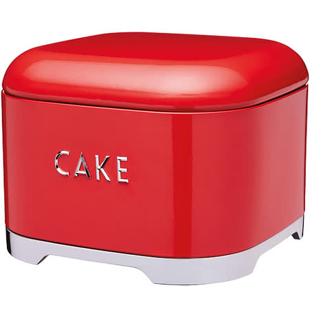 《KitchenCraft》Lovello蛋糕收納盒(紅)