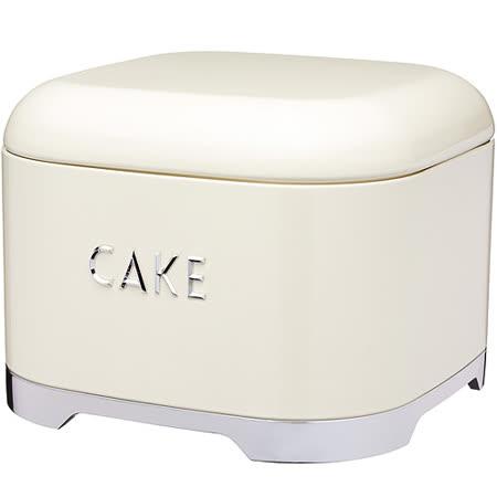 《KitchenCraft》Lovello蛋糕收納盒(奶油黃)