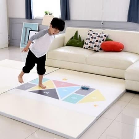 DreamB 折疊式防撞遊戲地墊-跳格子