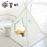 DreamB 印地安兒童帳篷-天然薄荷