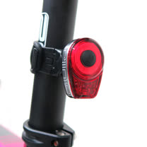 MOON RING 紅光LED警示燈6段模式鋁合金後燈
