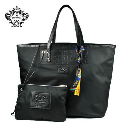 【OR BLANC】TULIPE 01時尚托特包 黑色(O1379-A)