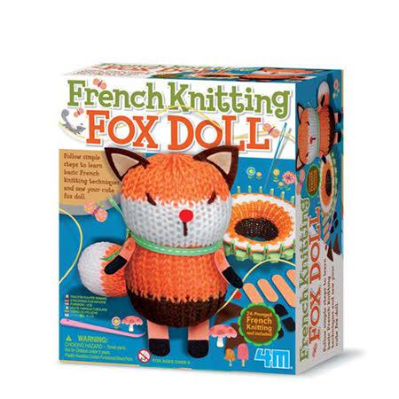 (購物車)《4M美勞創作》編織小狐狸娃娃