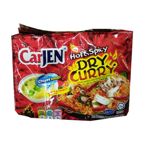 CARJEN火辣蔥燒鐵板炒麵392g