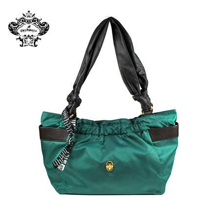 【HAKKIN】HABEL-HK1 01簡約時尚褶皺女包 藍綠色(O7028-B)