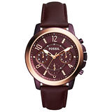 FOSSIL 格溫精緻時尚計時腕錶-ES4116