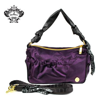 【HAKKIN】HELLIS HK1-01輕量時尚褶皺女包 紫色(O7030-A)
