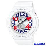 CASIO卡西歐 Baby-G清爽海軍風格配色活潑感休閒腕錶 BGA-130TR-7B
