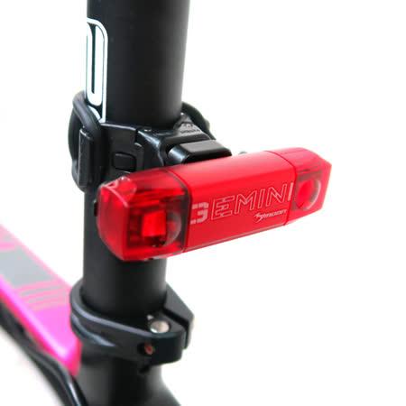 MOON GEMINI R 紅光2顆LED警示燈5段模式鋁合金後燈