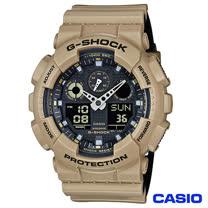 CASIO卡西歐 G-SHOCK超人氣大錶徑雙層撞色設計腕錶 GA-100L-8A