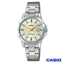 CASIO卡西歐 女仕休閒時尚鋼帶腕錶 LTP-V004SG-9A