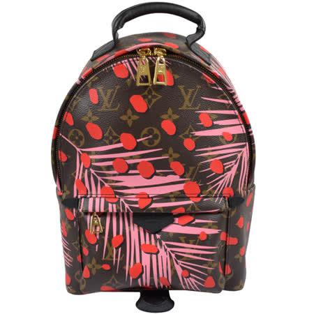 【好物推薦】gohappy快樂購Louis Vuitton LV M41981 Palm Springs PM 限量圖案經典花紋後背包 現貨哪裡買愛 買點 數