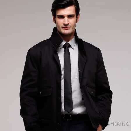 ROBERTA諾貝達 台灣製 紳仕嚴選夾克外套  黑色
