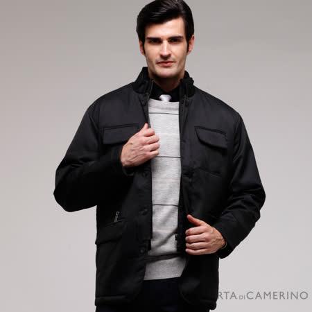 ROBERTA諾貝達 台灣製 輕薄紳仕夾克外套  黑色