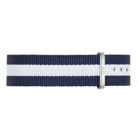 DW Daniel Wellington 藍白帆布錶帶/18mm(0802DW)