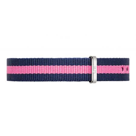 【網購】gohappy 購物網DW Daniel Wellington 藍粉紅帆布錶帶/13mm(1026DW)推薦愛 買 營業 時間
