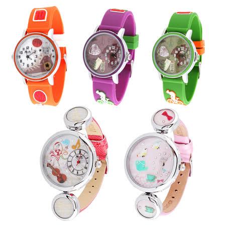 【韓國MINI】手工軟陶創意手錶(五款可選)