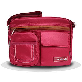 AIRWALK多功能側背包-紅色