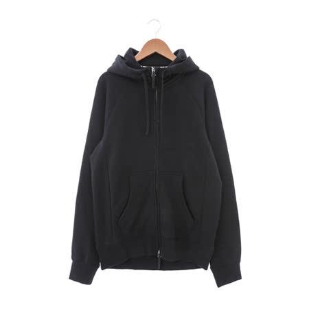 NIKE (男) 棉質--運動外套(連帽) 黑 800144011