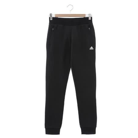 Adidas (女) 運動棉長褲(厚) 黑 AZ4879