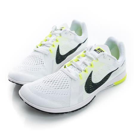NIKE (男) 慢跑鞋 白黑螢光 819038107