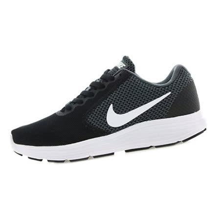 NIKE (女) 慢跑鞋 黑白 819303001