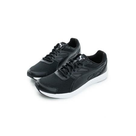 PUMA (男) 慢跑鞋 黑白 18906105
