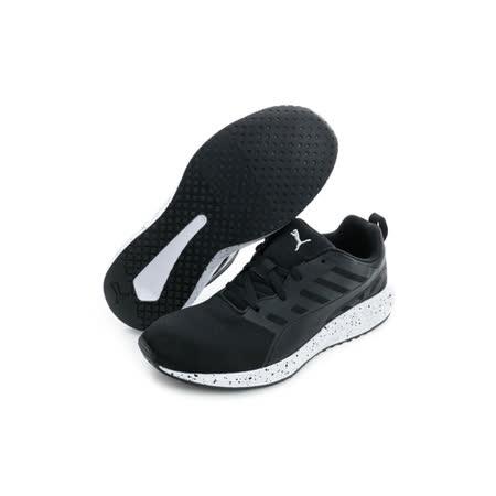 PUMA (女) 慢跑鞋 黑白 18903303