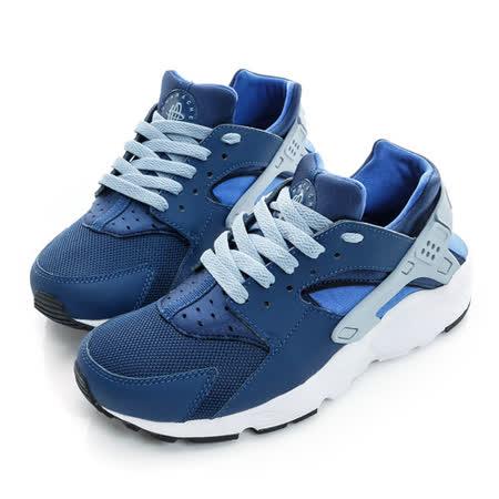 NIKE (大童) 經典復古鞋 藍白 654275406