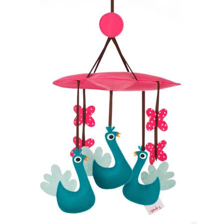 加拿大 3 Sprouts 轉轉吊飾-土耳其藍孔雀