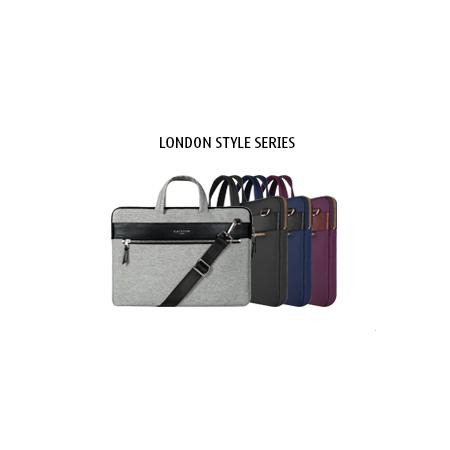 Cartinoe卡提諾 英倫系列 極時尚質感佳  13.3吋可提可肩背筆電包