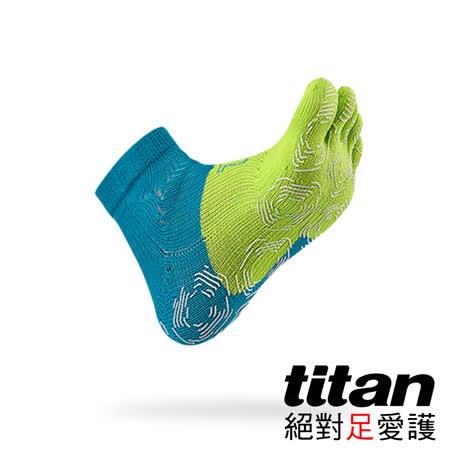 Titan 五趾功能慢跑襪[青/綠]