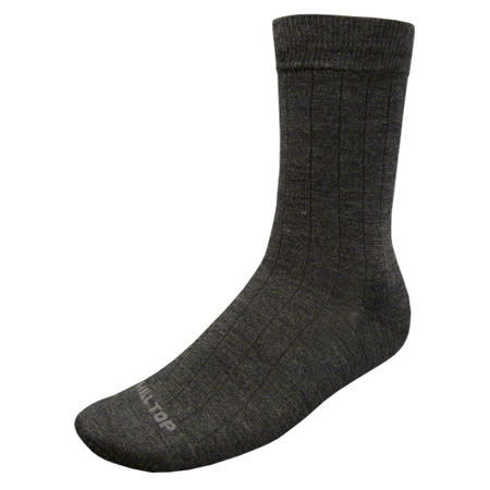 【hilltop山頂鳥】美麗諾保暖羊毛襪H47XE2灰