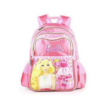芭比Barbie 魔力甜心學生書包- 粉紅