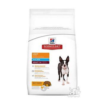 Hill's希爾思 成犬 體重控制 小顆粒 減肥犬 飼料 15公斤 x 1包