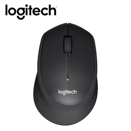 Logitech 羅技 M331 無線靜音滑鼠(黑)