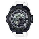 CASIO 卡西歐 G-SHOCK G-STEEL系列 時尚運動防震腕錶/52.4mm/GST-210B-7A