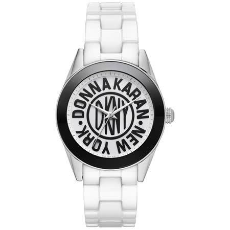 DKNY 紐約時尚25週年全球限量陶瓷腕錶-36mm NY2154