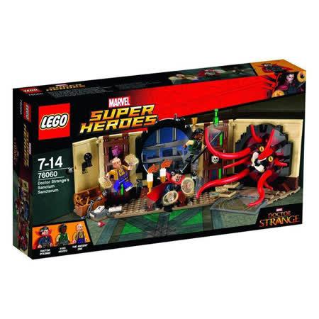 【LEGO樂高積木】Super Heros超級英雄系列-奇異博士的書房 LT-76060