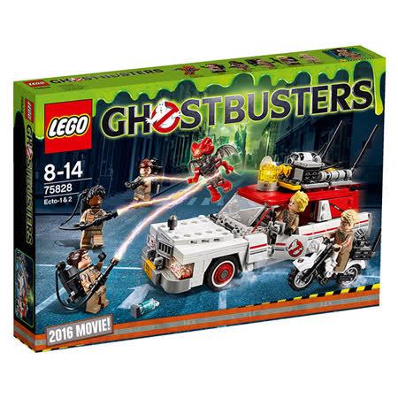 【LEGO樂高積木】Ghostbusters魔鬼剋星系列-抓鬼車Ecto-12 LT-75828